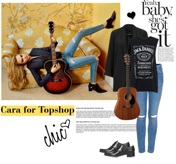 Cara for Topshop Get the look