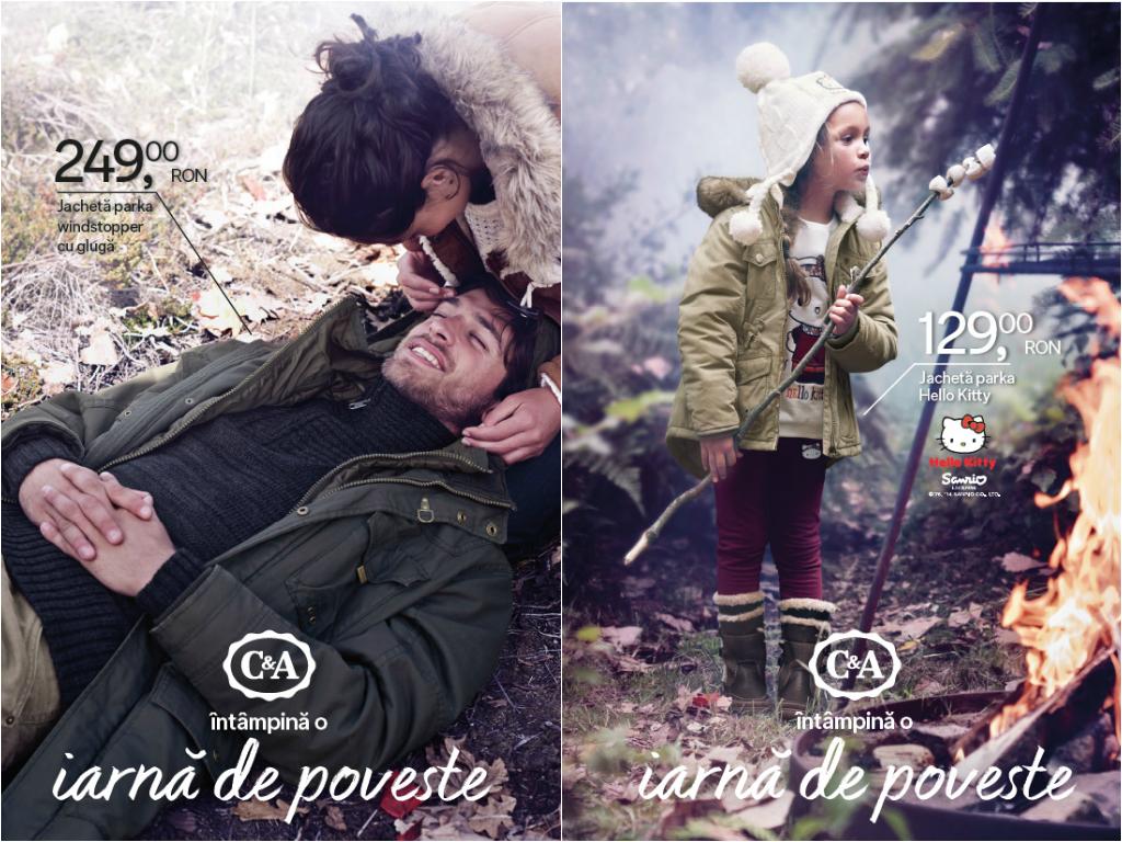 Intampina o iarna de poveste cu noile jachete C&A