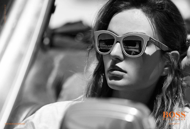 Andreea Diaconu Boss Orange Primavara Vara 2015 1
