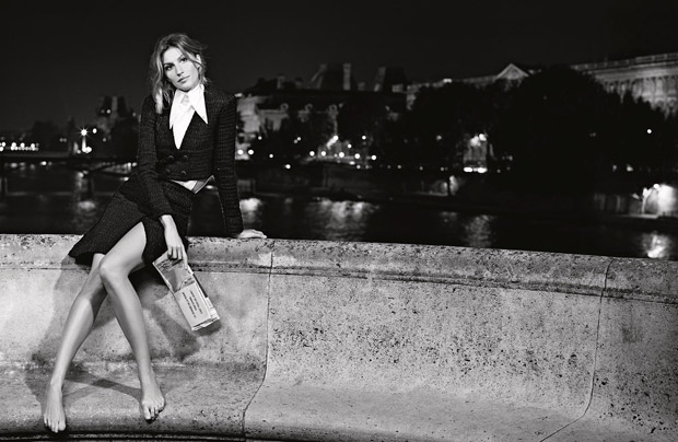 Gisele Bundchen Chanel Primavara Vara 2015 1