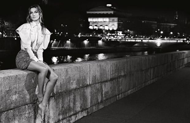 Gisele Bundchen Chanel Primavara Vara 2015 10