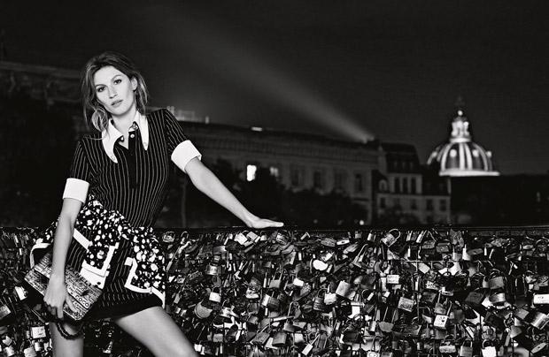 Gisele Bundchen Chanel Primavara Vara 2015 3