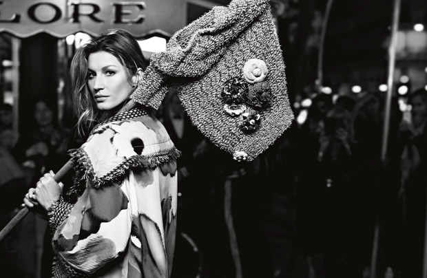 Gisele Bundchen Chanel Primavara Vara 2015 5