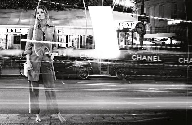 Gisele Bundchen Chanel Primavara Vara 2015 6