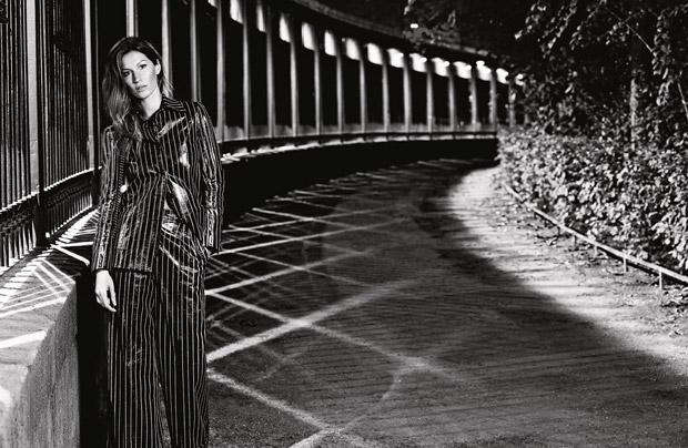 Gisele Bundchen Chanel Primavara Vara 2015 7