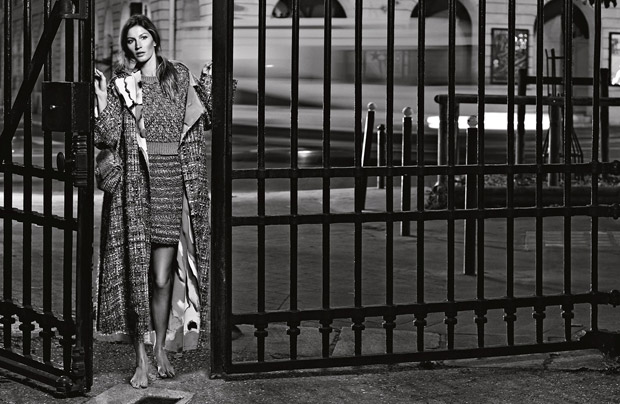 Gisele Bundchen Chanel Primavara Vara 2015 9