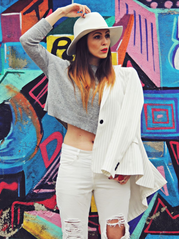 tinuta all white Daniela Macsim 2