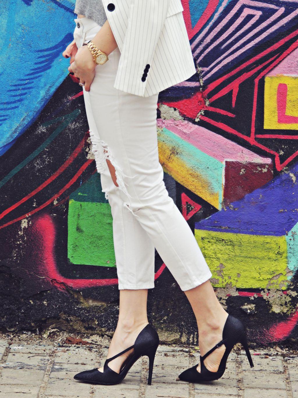 tinuta all white Daniela Macsim