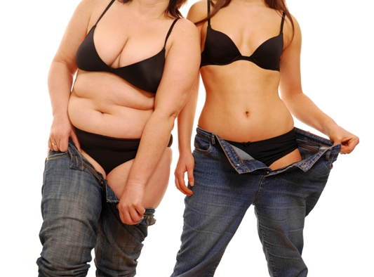 fat-and-thin-women