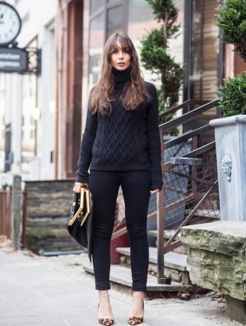 tinuta trendy iarna pulover 1