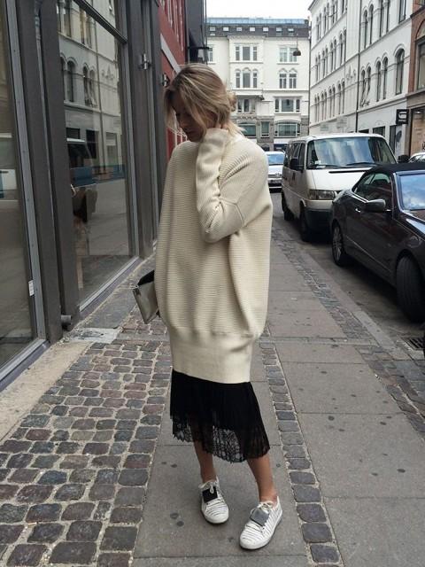 tinuta trendy iarna pulover 14