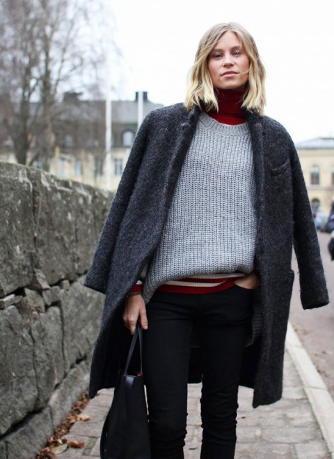 tinuta trendy iarna pulover 6