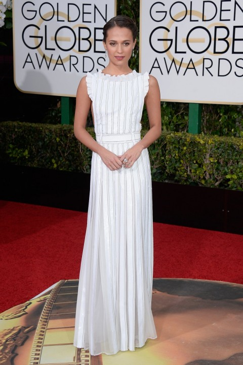 Golden Globes 2016 Alicia Vikander