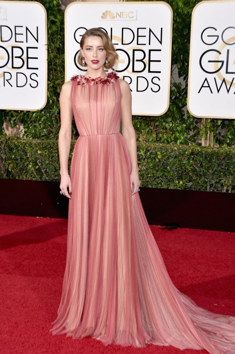 Golden Globes 2016 Amber Hard