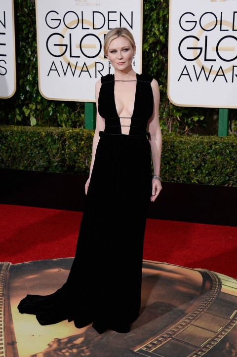 Golden Globes 2016 Kirsten Dunst