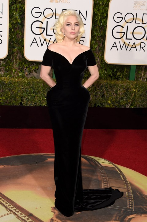 Golden Globes 2016 Lady Gaga