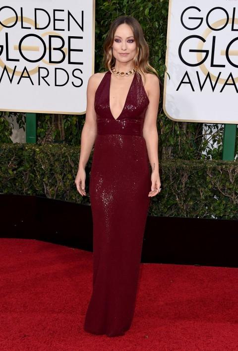 Golden Globes 2016 Olivia Wilde