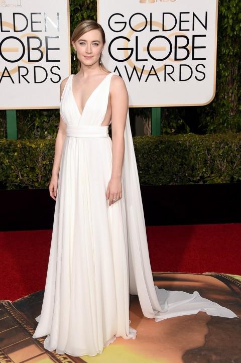 Golden Globes 2016 Saoirse Ronan