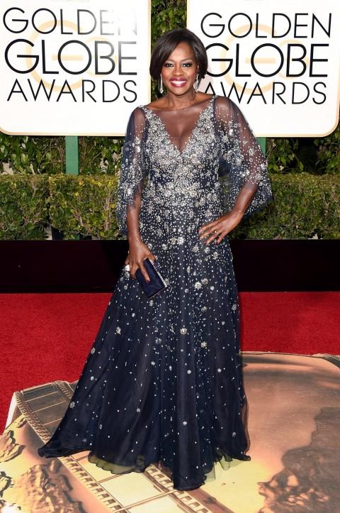 Golden Globes 2016 Viola Davis