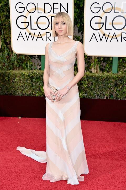 Golden Globes 2016 Zoe Kazan