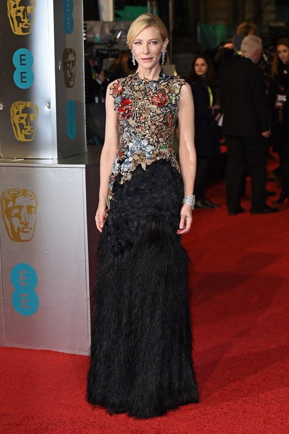 premiile BAFTA covorul rosu 2016 Cate Blanchett