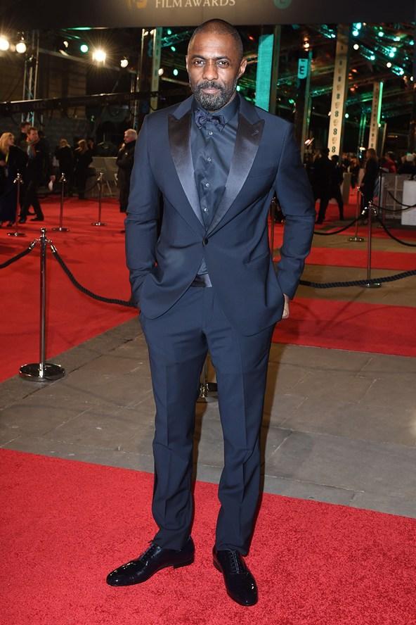 premiile BAFTA covorul rosu 2016 Idris Elba
