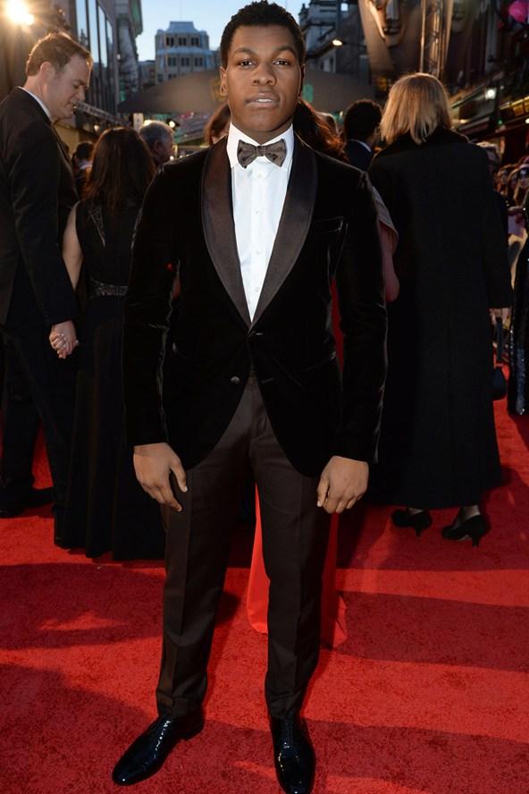 premiile BAFTA covorul rosu 2016 John Boyega