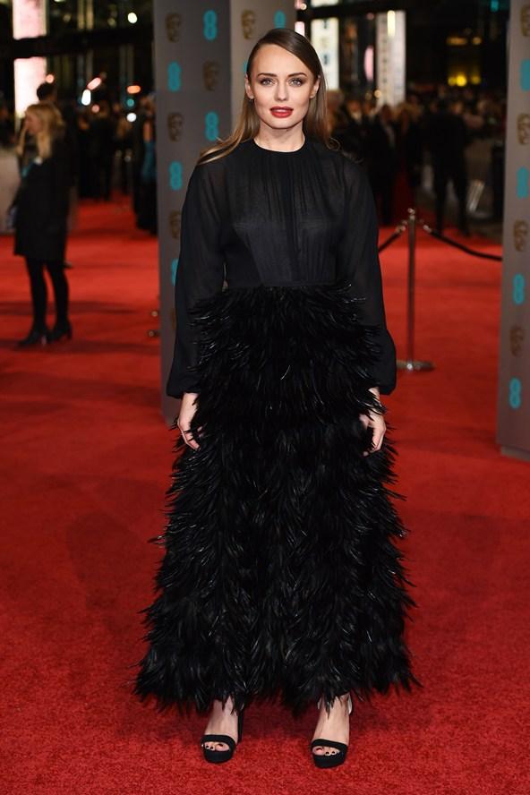 premiile BAFTA covorul rosu 2016 Laura Haddock