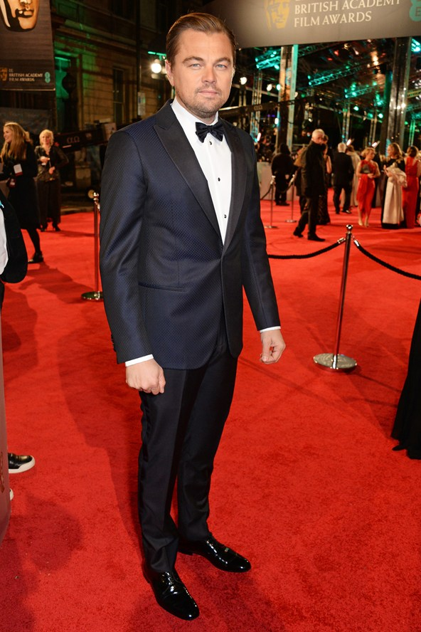 premiile BAFTA covorul rosu 2016 Leonardo DiCaprio