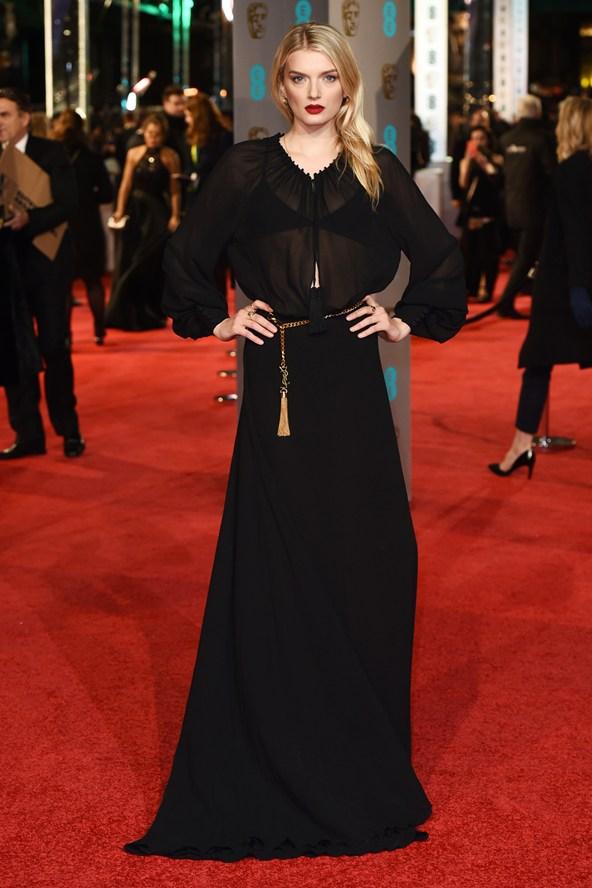 premiile BAFTA covorul rosu 2016 Lily Donaldson