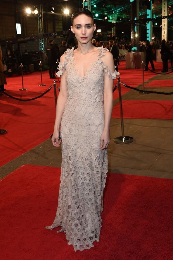premiile BAFTA covorul rosu 2016 Rooney Mara