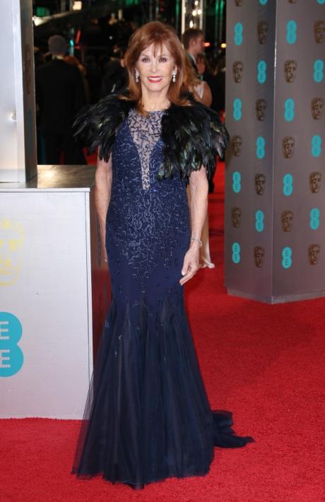 premiile BAFTA covorul rosu 2016 Stefanie Powers