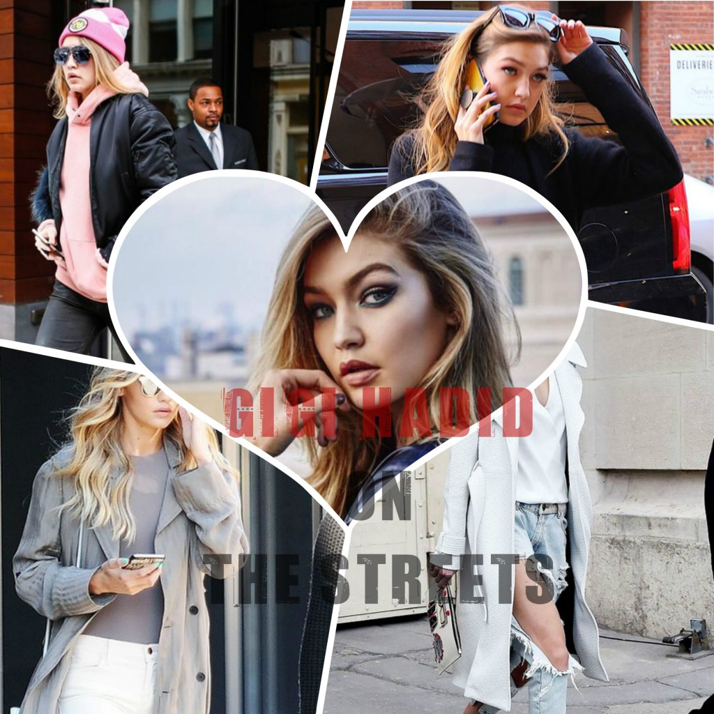 Gigi Hadid on the streets