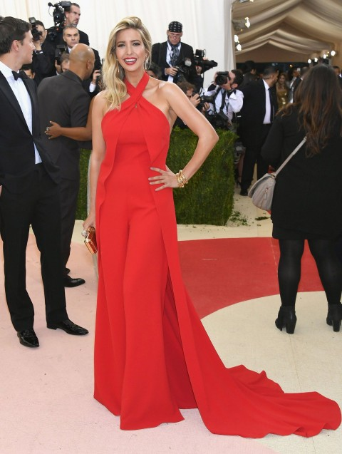 Met Gala 2016 covorul rosu Ivanka Trump