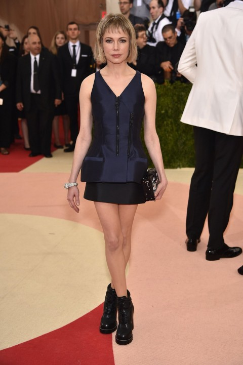 Met Gala 2016 covorul rosu Michelle Williams