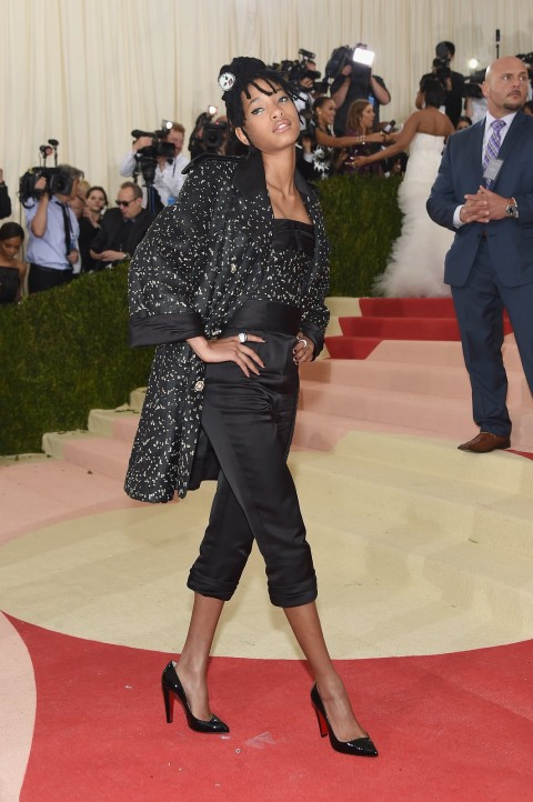 Met Gala 2016 covorul rosu Willow Smith
