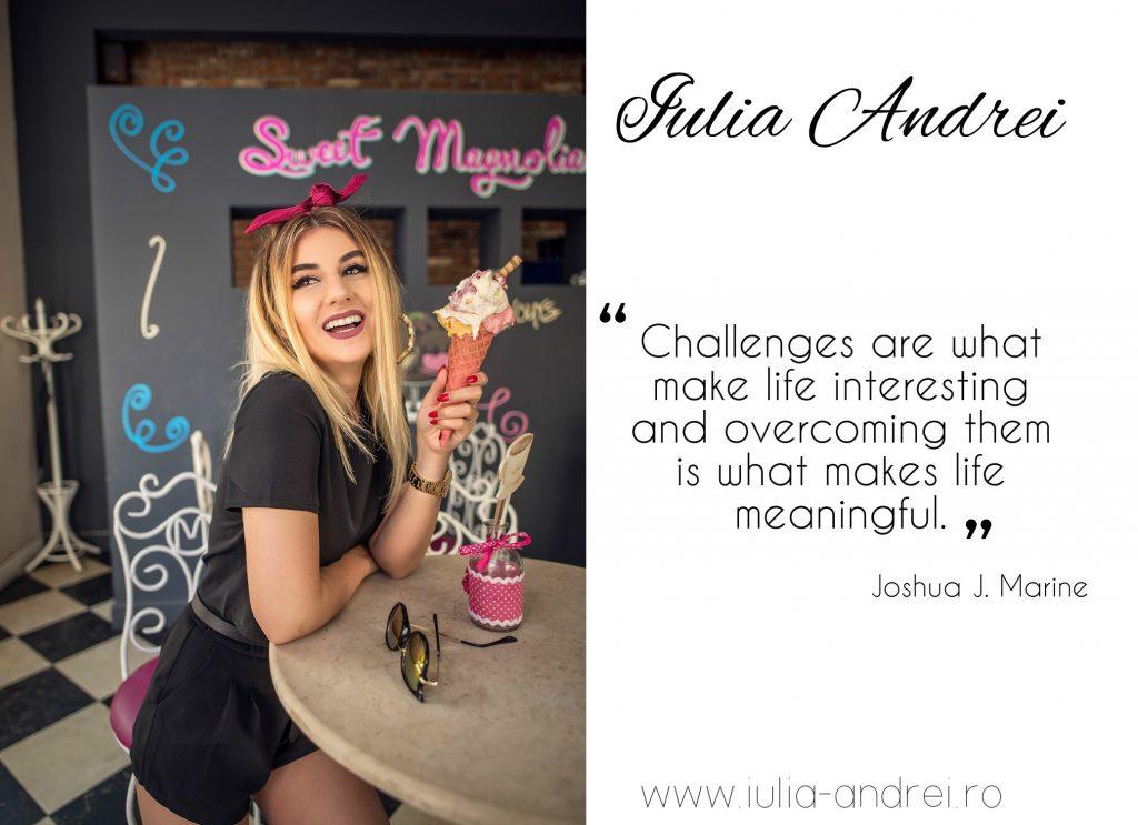 interviu blogger de moda Iulia Andrei