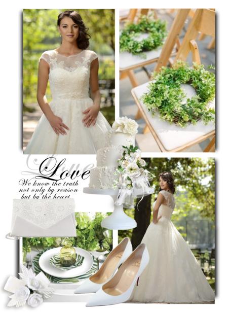 rochie de mireasa tip printesa whitepirl
