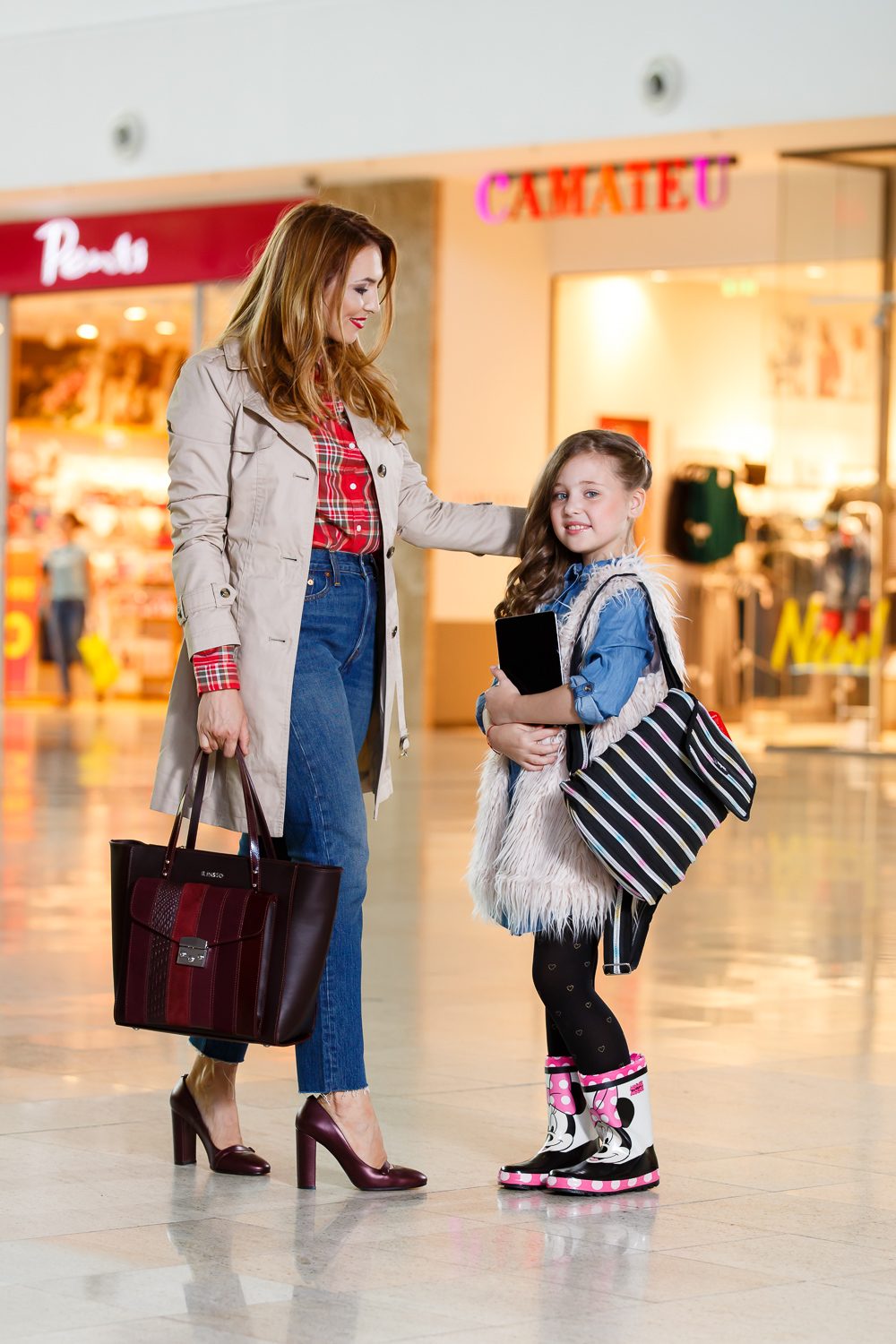 "Styling pentru catalogul ""Stylish for School by Palas Mall & Fashion Bloggers"
